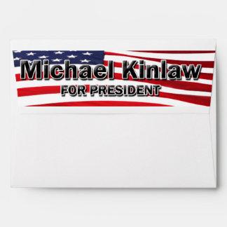 Elect Michael Kinlaw Envelopes