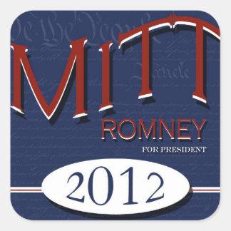 Elect  Mitt Romney 2012 Stickers