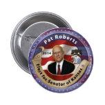 Elect Pat Roberts for Senator of Kansas - 2014 Pinback Buttons