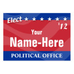 ELECT - Political Campaign Business Card Template