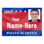ELECT - Political Campaign Large Business Card