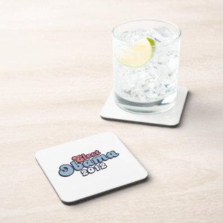 ELECT PRESIDENT OBAMA -.png Drink Coaster
