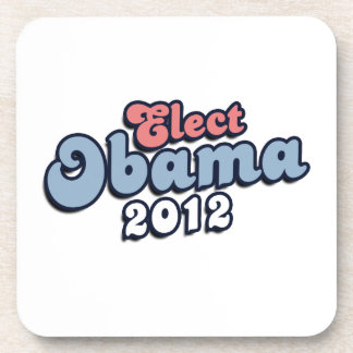 ELECT PRESIDENT OBAMA -.png Drink Coasters