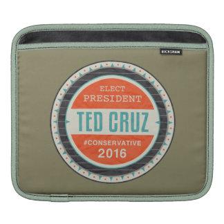 Elect President Ted Cruz iPad Sleeve