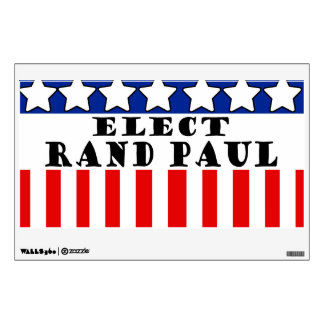 Elect Rand Paul Wall Graphic