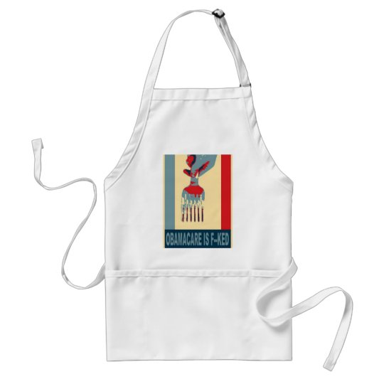 Elect Republicans and stick a fork in Obamacare Adult Apron