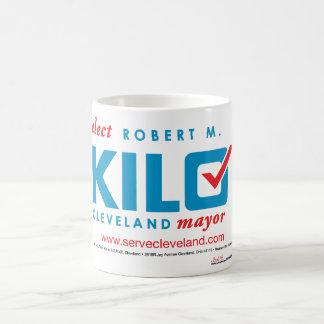 Elect Robert Kilo ElectionSignWhite Coffee Mug