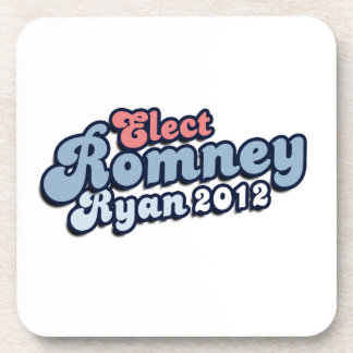 ELECT ROMNEY RYAN png Coaster
