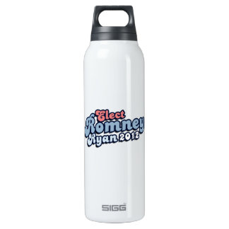 ELECT ROMNEY RYAN.png 16 Oz Insulated SIGG Thermos Water Bottle