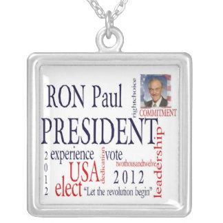 Elect Ron Paul Necklace