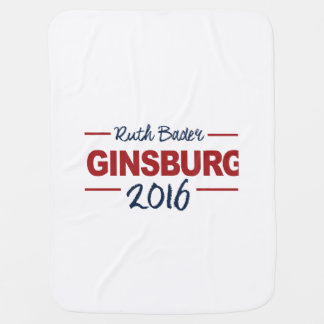 Elect Ruth Bader Ginsburg 2016 Campaign Sign Stroller Blanket