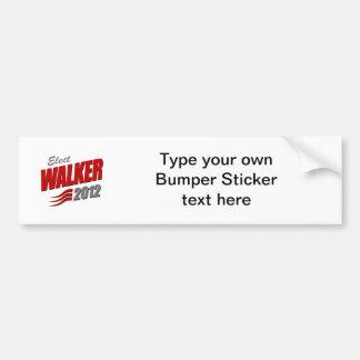 ELECT SCOTT WALKER CAR BUMPER STICKER