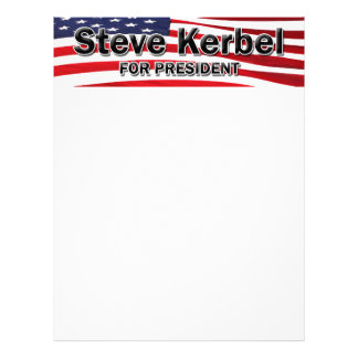 Elect Steve Kerbel Letterhead
