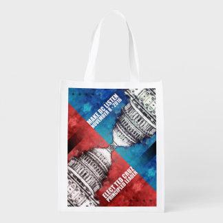 Elect Ted Cruz Reusable Grocery Bag