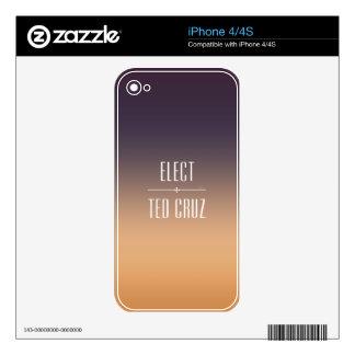 Elect Ted Cruz iPhone 4 Skin