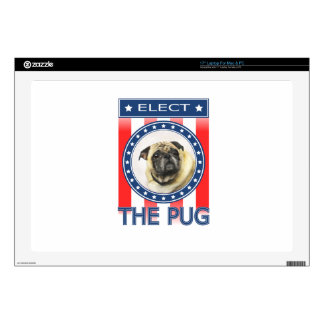 Elect The Pug Decals For Laptops