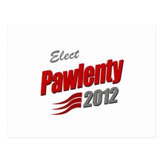 ELECT TIM PAWLENTY POSTCARD