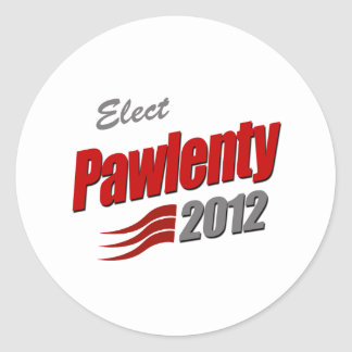 ELECT TIM PAWLENTY STICKER