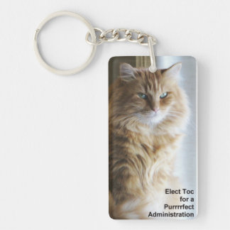 Elect Toc for a Purrrfect Administration Keychains