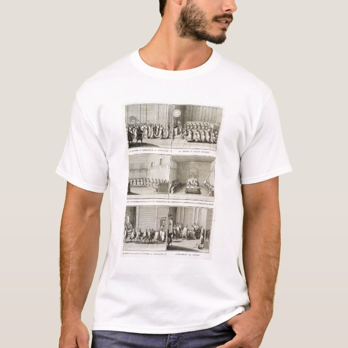 Electing the Pope, from the 'Encyclopedia' by Deni T-Shirt