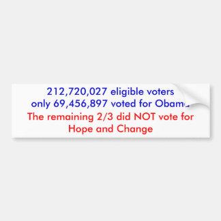 election 08 bumper sticker
