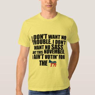 Election 2012 - Anti Barack Obama Tee Shirt