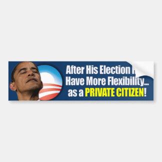 Election 2012 - Anti Obama Bumper Stickers