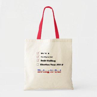 Election 2012 Checklist Canvas Bag