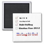 Election 2012 Checklist Magnet