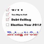 Election 2012 Checklist Sticker