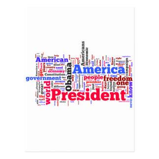 Election 2012 postcard
