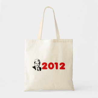 Election 2012 red canvas bags
