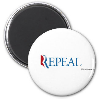 "Election 2012 ""Repeal"" Gear 2 Inch Round Magnet"