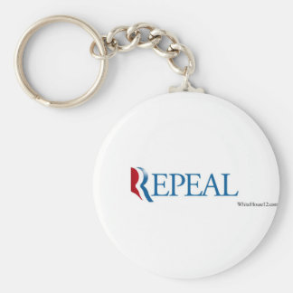 "Election 2012 ""Repeal"" Gear Basic Round Button Keychain"
