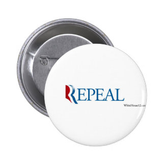 """Election 2012 """"Repeal"""" Gear Buttons"""
