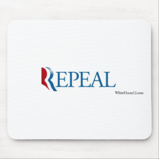"""Election 2012 """"Repeal"""" Gear Mouse Pad"""