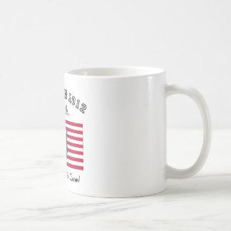 Election 2012 USA    The choice is clear! Classic White Coffee Mug