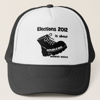 election 2012 women's rights trucker hat