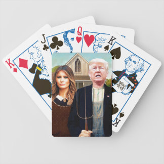 Election 2016 American Gothic Playing Cards