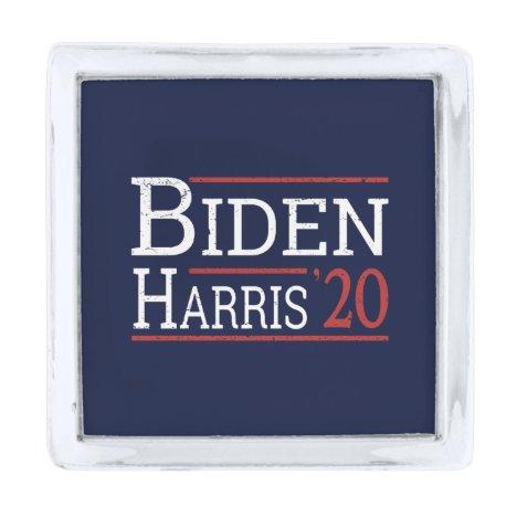 Election 2020 - Biden Harris I Silver Finish Lapel Pin