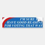 ELECTION!  Bumper Sticker