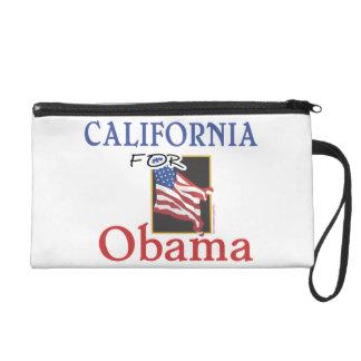 Election California for Obama Wristlet Purses