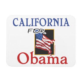 Election California for Obama Rectangular Photo Magnet