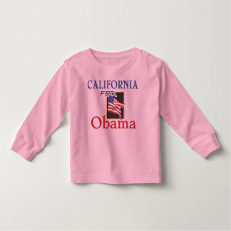 Election California for Obama Toddler T-shirt