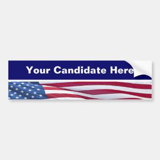 Election Campaign Bumper Stickers