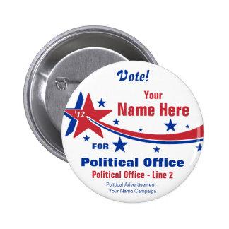 Election Campaign Button - Non-Partisan