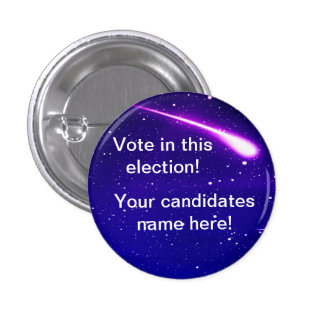 Election campaign personalize it yourself button
