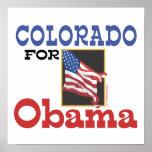 Election Colorado for Obama Poster