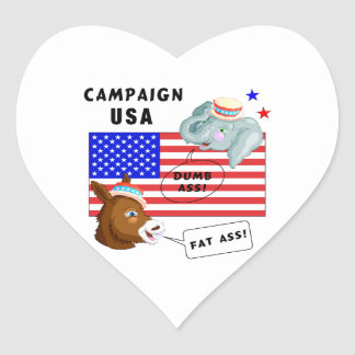 Election Day Campaign USA Sticker