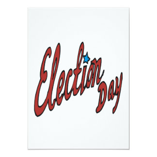 Election Day Card